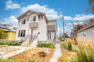 Main Photo: 10611 68 Avenue in Edmonton: Zone 15 House Half Duplex for sale : MLS®# E4218579