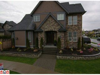 """Photo 1: 16220 26TH Avenue in Surrey: Grandview Surrey House for sale in """"MORGAN HEIGHTS"""" (South Surrey White Rock)  : MLS®# F1112581"""