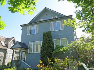 Main Photo: 2636 Yukon Street in Vancouver: Cambie Home for sale (Vancouver West)  : MLS®# V4035658