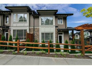 "Photo 1: 6 23986 104 Avenue in Maple Ridge: Albion Townhouse for sale in ""SPENCER BROOK"" : MLS®# V1066676"