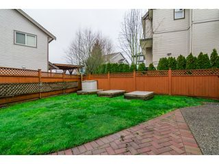 "Photo 20: 5836 167TH Street in Surrey: Cloverdale BC House for sale in ""WESTSIDE TERRACE"" (Cloverdale)  : MLS®# F1431310"