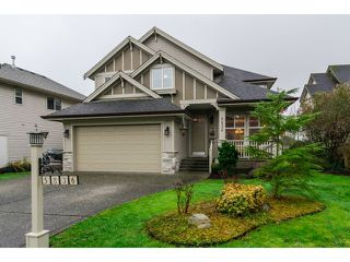 "Photo 1: 5836 167TH Street in Surrey: Cloverdale BC House for sale in ""WESTSIDE TERRACE"" (Cloverdale)  : MLS®# F1431310"