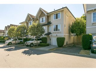"Photo 1: 97 20540 66 Avenue in Langley: Willoughby Heights Townhouse for sale in ""Amberleigh"" : MLS®# R2098835"