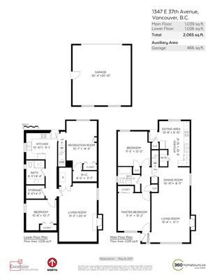 """Photo 5: 1347 E 37TH Avenue in Vancouver: Knight House for sale in """"KNIGHT"""" (Vancouver East)  : MLS®# R2166449"""