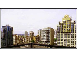 Photo 1: # 1507 1212 HOWE ST in Vancouver: Downtown VW Condo for sale (Vancouver West)  : MLS®# V941105