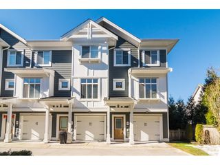 """Main Photo: 28 8433 164 Street in Surrey: Fleetwood Tynehead Townhouse for sale in """"Encore at Maple on 164"""" : MLS®# R2344454"""