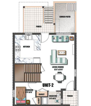 Photo 3: 2234 E 35 Avenue in Vancouver: Victoria VE 1/2 Duplex for sale (Vancouver East)  : MLS®# R2376932