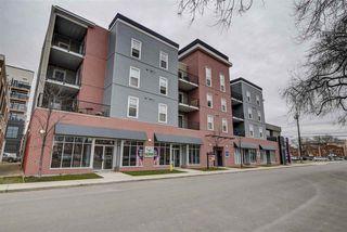 Photo 1: 412 10418 81 Avenue in Edmonton: Zone 15 Condo for sale : MLS®# E4178046