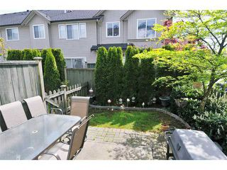 """Photo 9: 55 1055 RIVERWOOD Gate in Port Coquitlam: Riverwood Townhouse for sale in """"MOUNTAIN VIEW ESTATES"""" : MLS®# V888731"""