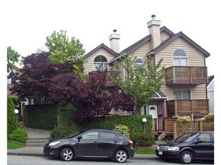 "Photo 1: 642 ST GEORGES Avenue in North Vancouver: Lower Lonsdale Townhouse for sale in ""ST GEORGES COURT"" : MLS®# V899118"