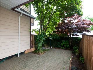 "Photo 10: 642 ST GEORGES Avenue in North Vancouver: Lower Lonsdale Townhouse for sale in ""ST GEORGES COURT"" : MLS®# V899118"