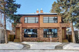 Photo 1: 2443 22 Street NW in CALGARY: Banff Trail Residential Attached for sale (Calgary)  : MLS®# C3600165