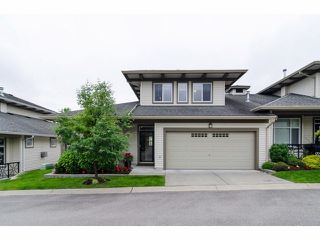 "Photo 1: 49 15188 62A Avenue in Surrey: Sullivan Station Townhouse for sale in ""Gillis Walk"" : MLS®# F1413374"