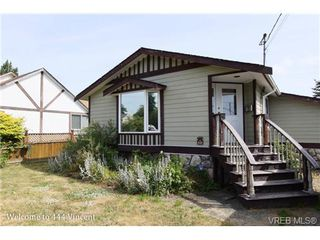 Photo 4: 444 Vincent Ave in VICTORIA: SW Gorge House for sale (Saanich West)  : MLS®# 674178