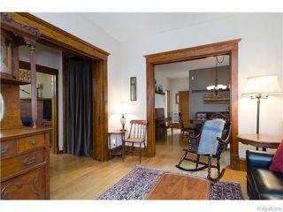 Photo 3: 221 Walnut Street in Winnipeg: West End / Wolseley Residential for sale (West Winnipeg)  : MLS®# 1609946
