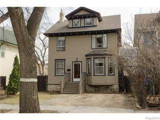 Photo 1: 221 Walnut Street in Winnipeg: West End / Wolseley Residential for sale (West Winnipeg)  : MLS®# 1609946