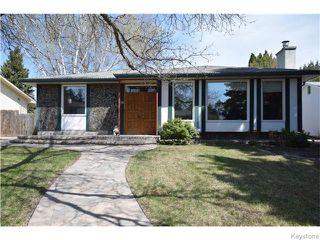 Photo 1: 31 Briar Cliff Bay in Winnipeg: Fort Garry / Whyte Ridge / St Norbert Residential for sale (South Winnipeg)  : MLS®# 1611383