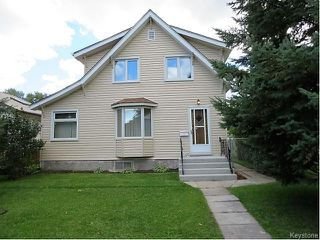 Photo 1: 150 Seven Oaks Avenue in Winnipeg: Scotia Heights Residential for sale (4D)  : MLS®# 1624290