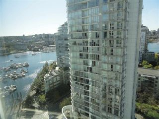 "Photo 1: 2206 1199 MARINASIDE Crescent in Vancouver: Yaletown Condo for sale in ""AQUARIUS ONE"" (Vancouver West)  : MLS®# R2116053"