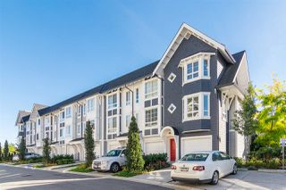 "Photo 1: 65 8476 207A Street in Langley: Willoughby Heights Townhouse for sale in ""YORK By Mosaic"" : MLS®# R2313776"