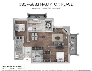 """Photo 18: 307 5683 HAMPTON Place in Vancouver: University VW Condo for sale in """"WYNDHAM HALL"""" (Vancouver West)  : MLS®# R2318427"""