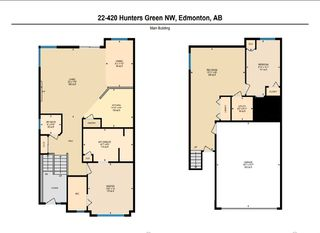 Photo 2: 22 420 HUNTERS Green in Edmonton: Zone 14 Townhouse for sale : MLS®# E4156465