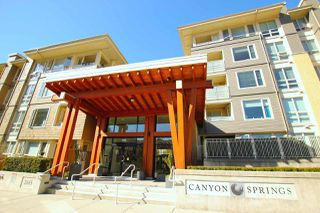 "Photo 1: 318 2665 MOUNTAIN Highway in North Vancouver: Lynn Valley Condo for sale in ""CANYON SPRINGS"" : MLS®# R2381285"