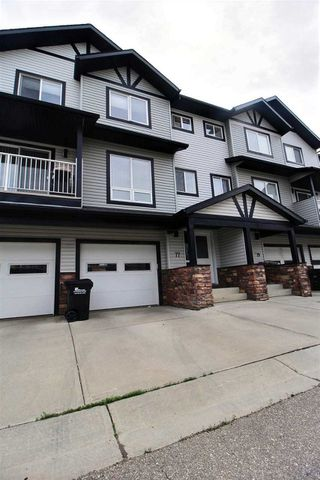 Main Photo: 77 11 Clover Bar Lane: Sherwood Park Townhouse for sale : MLS®# E4163139