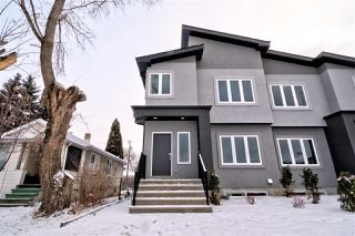 Photo 1: 9935 79 Street in Edmonton: Zone 19 House Half Duplex for sale : MLS®# E4181223