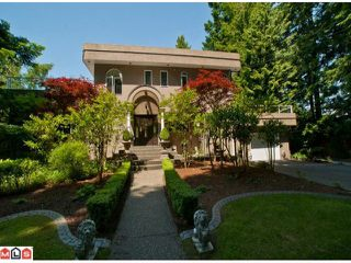 Photo 1: 13887 16TH Avenue in Surrey: Sunnyside Park Surrey House for sale (South Surrey White Rock)  : MLS®# F1110014