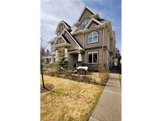 Photo 2: 1 523 34 Street NW in CALGARY: Parkdale Townhouse for sale (Calgary)  : MLS®# C3473184