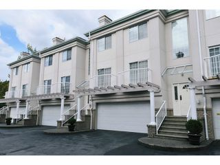 Photo 1: 3 1282 PITT RIVER Road in Port Coquitlam: Citadel PQ Townhouse for sale : MLS®# V1047221