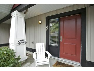"Photo 2: 24 7168 179TH Street in Surrey: Cloverdale BC Townhouse for sale in ""OVATION"" (Cloverdale)  : MLS®# F1449821"