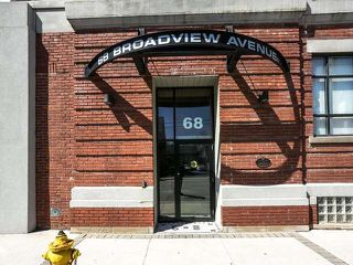 Photo 2: 513 68 Broadview Avenue in Toronto: South Riverdale Condo for sale (Toronto E01)  : MLS®# E3789611