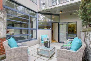 "Photo 3: 106 2228 MARSTRAND Avenue in Vancouver: Kitsilano Condo for sale in ""The SOLO"" (Vancouver West)  : MLS®# R2210099"