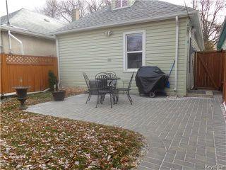Photo 20: 222 Rutland Street in Winnipeg: St James Residential for sale (5E)  : MLS®# 1728306