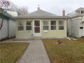 Photo 1: 222 Rutland Street in Winnipeg: St James Residential for sale (5E)  : MLS®# 1728306