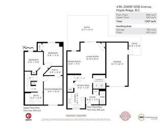 Photo 18: 36 20699 120B Avenue in Maple Ridge: Northwest Maple Ridge Townhouse for sale : MLS®# R2269955