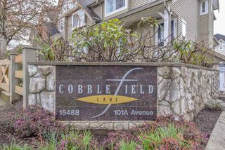 """Main Photo: 19 15488 101A Avenue in Surrey: Guildford Townhouse for sale in """"COBBLEFIELD LANE"""" (North Surrey)  : MLS®# R2360095"""