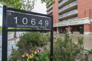 Photo 1: 303 10649 SASKATCHEWAN Drive in Edmonton: Zone 15 Condo for sale : MLS®# E4162727