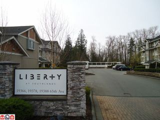 "Photo 2: 413 19388 65TH Avenue in Surrey: Clayton Condo for sale in ""LIBERTY"" (Cloverdale)  : MLS®# F1109869"