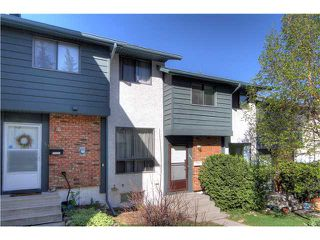 Photo 1: 111 6915 RANCHVIEW Drive NW in CALGARY: Ranchlands Townhouse for sale (Calgary)  : MLS®# C3622669