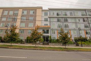 """Photo 2: 416 13728 108 Avenue in Surrey: Whalley Condo for sale in """"Quattro"""" (North Surrey)  : MLS®# R2100265"""