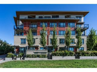 "Photo 1: 309 13925 FRASER Highway in Surrey: Whalley Condo for sale in ""Verve"" (North Surrey)  : MLS®# R2110312"