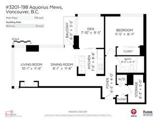 "Photo 19: 3201 198 AQUARIUS Mews in Vancouver: Yaletown Condo for sale in ""AQUARIUS II"" (Vancouver West)  : MLS®# R2202359"