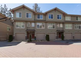 "Photo 1: 5 20967 76 Avenue in Langley: Willoughby Heights Townhouse for sale in ""NATURE'S WALK"" : MLS®# R2255141"