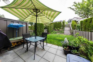 "Photo 1: 7 1305 SOBALL Street in Coquitlam: Burke Mountain Townhouse for sale in ""Tyneridge North"" : MLS®# R2285552"