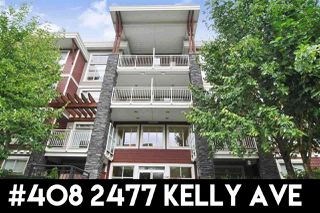 """Photo 1: 408 2477 KELLY Avenue in Port Coquitlam: Central Pt Coquitlam Condo for sale in """"South Verde"""" : MLS®# R2311710"""