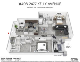 """Photo 20: 408 2477 KELLY Avenue in Port Coquitlam: Central Pt Coquitlam Condo for sale in """"South Verde"""" : MLS®# R2311710"""