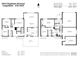 Photo 20: 644 CHAPMAN Avenue in Coquitlam: Coquitlam West House for sale : MLS®# R2321157